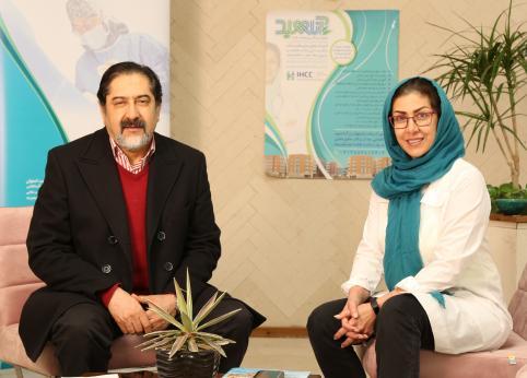 بازدید دکتر حسام الدین سراج از کلینیک آناهید