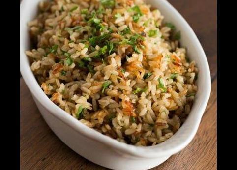 برنج سفید - برنج قهوه ای